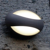 Lutec UT/EYES 1861 LED Wall Light Graphite finish