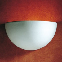 Dar MAR0748 Marino 1 Light Ceramic Wall Light
