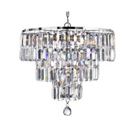 Searchlight 1375-5CC Empire 5 Light Crystal Ceiling Pendant