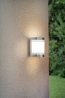 Eglo 30191 Cerno Outdoor Stainless Steel Wall Light