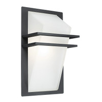 Eglo 83433 Park 1 Light Outdoor Wall Dark Grey