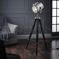 Modern floor lamps modern floor lamps endon eh nautical fl tripod floor lamp aloadofball Choice Image