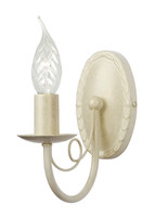 Elstead MIN1 IV/GLD Minster Chandelier  Wall light Ivory Gold
