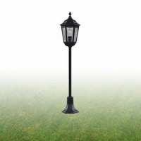Searchlight 82504BK Outdoor Bollard Lantern IP44  BLACK 100W