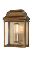 Elstead VICTORIA BR  Wall lantern Antique Brass