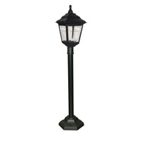 Elstead KERRY PILLAR Black Outdoor Pillar Lantern