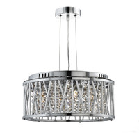 Searchlight 8333-3CC Elise Ceiling Pendant Polished Chrome