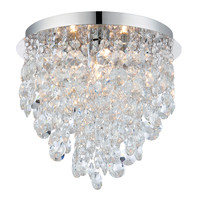 Endon 61233 kirsten bathroom chandelier chrome
