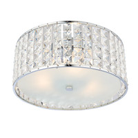 Endon 61252 Belfont Crystal Bathroom Ceiling Light