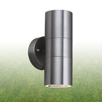 Searchlight 5008-2-LED Up/Down Stainless Steel Wall Light