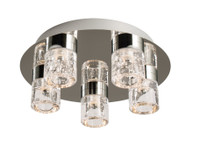 Endon 61358 Imperial LED Bathroom Ceiling Light Chrome