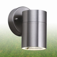 Searchlight 5008-1 1 Light Stainless Steel Outdoor Wall Light