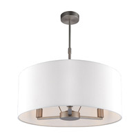 Endon 60241 Daley 3 Light Ceiling Pendant Matt Nickel