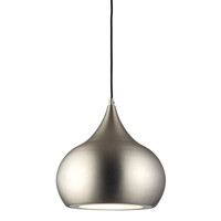 Endon 61296 Brosnan LED Ceiling Pendant Matt Nickel
