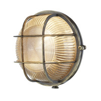 DAR ADM5075 Admiral Round Antique Brass