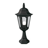 Elstead PR4 Parish Pedestal Black