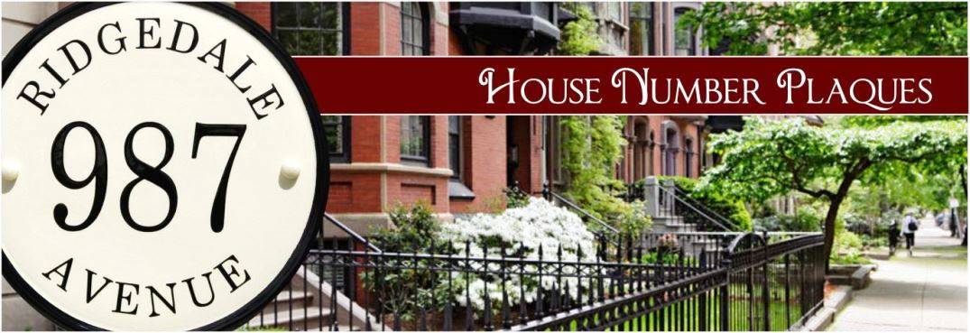 address plaques house number signs address signs - 1075×369
