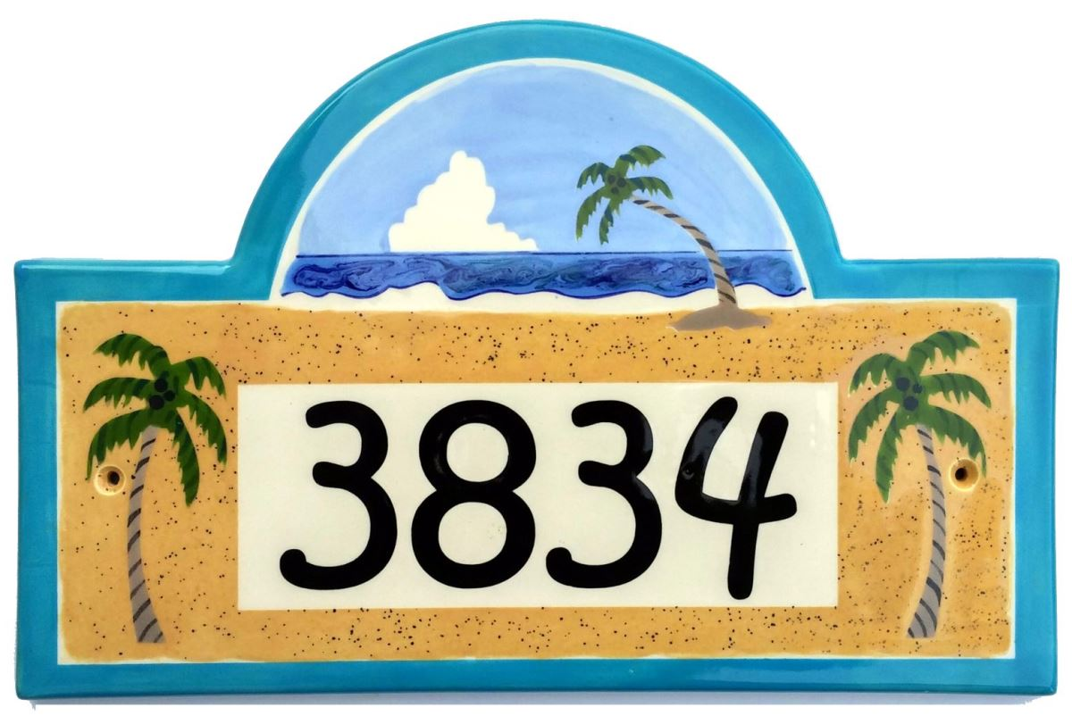 Address plaques gallery ceramic address plaques ceramic house free shipping on all our ceramic address plaques and house number signs dailygadgetfo Choice Image