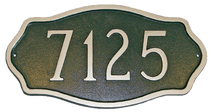 Hampton Address Plaque