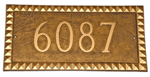Cairo House Number Plaque
