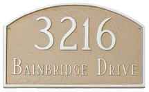 Prestige Arch Address Plaque