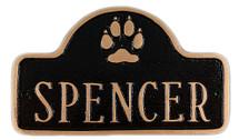 Dog Name Plate