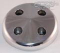 SBC SWP Aluminum Water Pump Pulley Nose: Polished