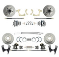 DBK55581012FS  - 1955-1958 GM Full Size Front & Rear Standard Disc Brake Kit (Impala, Bel Air, Biscayne)