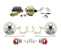"DBK5558LXR-GMFS1-205-1955-1958 GM Full Size Disc Brake Kit w/ 8"" Dual Zinc Booster Conversion Kit (Impala, Bel Air, Biscayne)"