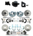 DBK6272834-BCK8536-1 1966-1970 B Body Front & Rear Disc Brake Conversion Rotor Kit & O.E.M. Booster Conversion w/ Casting Number