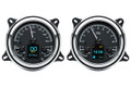 1947- 53 Chevy Pickup HDX Instruments From Dakota Digital - Black Face