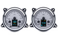 1947- 53 Chevy Pickup HDX Instruments From Dakota Digital - Silver Face