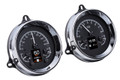 1954 Chevy Pickup HDX Instruments From Dakota Digital - Black Face