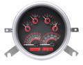 Dakota Digital 1949-50 Chevy Car Gauges - Carbon Fiber Face - Red Display