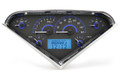 Dakota Digital 1955-1959 Chevy Pickup VHX Gauges - Carbon Fiber Face - Blue Display