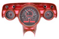 Dakota Digital 1957 Chevy VHX Gauges - Carbon Fiber Face - Red Display