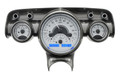 Dakota Digital 1957 Chevy VHX Gauges - Silver Alloy Face - Blue Display