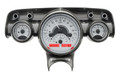 Dakota Digital 1957 Chevy VHX Gauges - Silver Alloy Face - Red Display