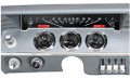 Dakota Digital 1961-62 Impala VHX Gauges - Black Alloy Face - Red Display
