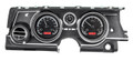 Dakota Digital 1963-65 Buick Riviera HDX Gauges - Black Alloy Face - Red Display
