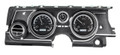 Dakota Digital 1963-65 Buick Riviera HDX Gauges - Black Alloy Face - White Display
