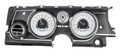 Dakota Digital 1963-65 Buick Riviera HDX Gauges - Silver Alloy Face - White Display