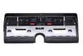 Dakota Digital 1966-69 Lincoln Continental VHX Gauges - Black Alloy Face - Red Display