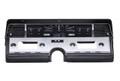 Dakota Digital 1966-69 Lincoln Continental VHX Gauges - Black Alloy Face - White Display