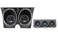 Dakota Digital 1967 Camaro with Console Gauges VHX - Black Alloy Face - White Display