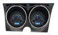 Dakota Digital 1967-68 Camaro Firebird VHX Gauges - Carbon Fiber Face - Blue Display