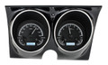 Dakota Digital 1967-68 Camaro Firebird VHX Gauges - Black Alloy Face - White Display