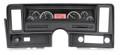 Dakota Digital 1969-76 Chevy Nova VHX Gauges - Black Alloy Face - Red Display