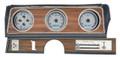 Dakota Digital 1970-72 Oldsmobile Cutlass VHX Gauges - Silver Alloy Face - White Display