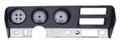 Dakota Digital 1970-72 Pontiac GTO/LeMans VHX Gauges - Silver Alloy Face - Blue Display